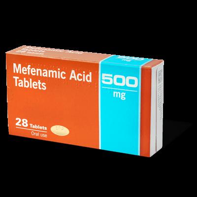 Mefenamic Acid 500mg drug image