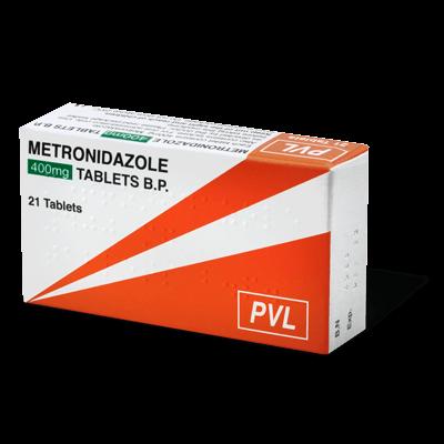 Metronidazole 400mg drug image