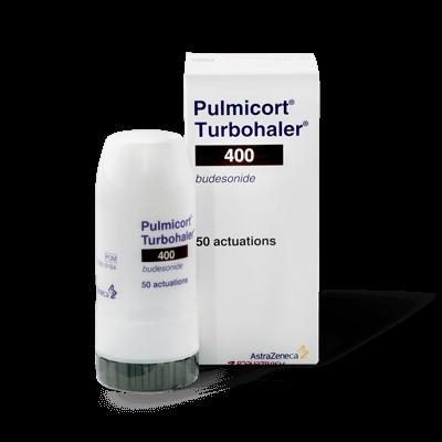 Pulmicort Turbohaler 400mcg (1 Inhaler) drug image