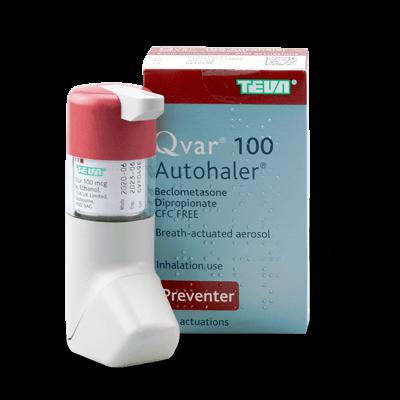Qvar Autohaler 100mcg (1 Inhaler) drug image
