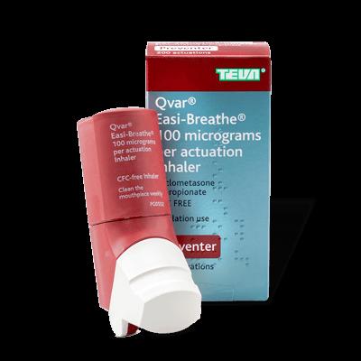 Qvar Easi-Breathe 100mcg (1 Inhaler) drug image
