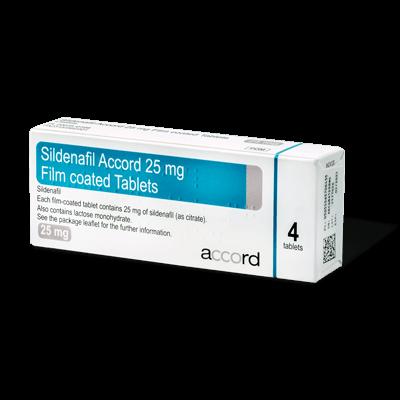 Sildenafil drug image