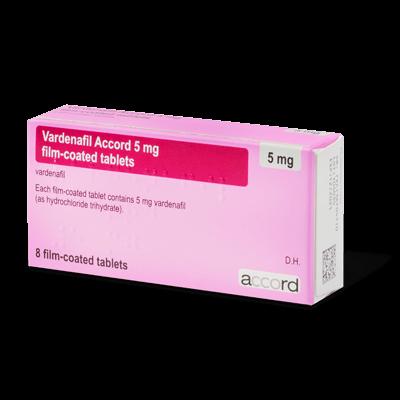 Vardenafil drug image
