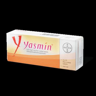 Yasmin drug image